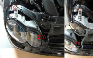 clk headlight diy 12
