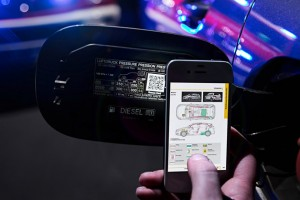 Workers can scan the QR sticker to instantly retrieve vital vehicle information in emergency situations