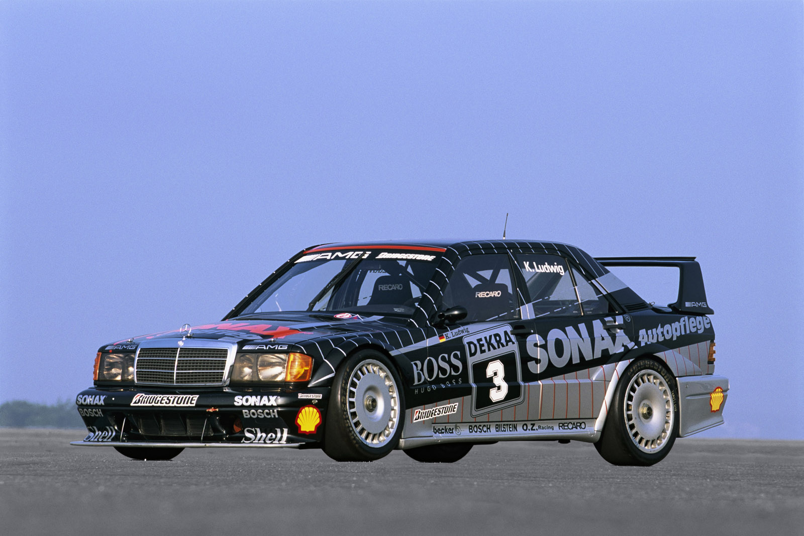Mercedes Benz Wheels >> Mercedes 190E Cosworth racing DTM | Three-Pointed Star Blog